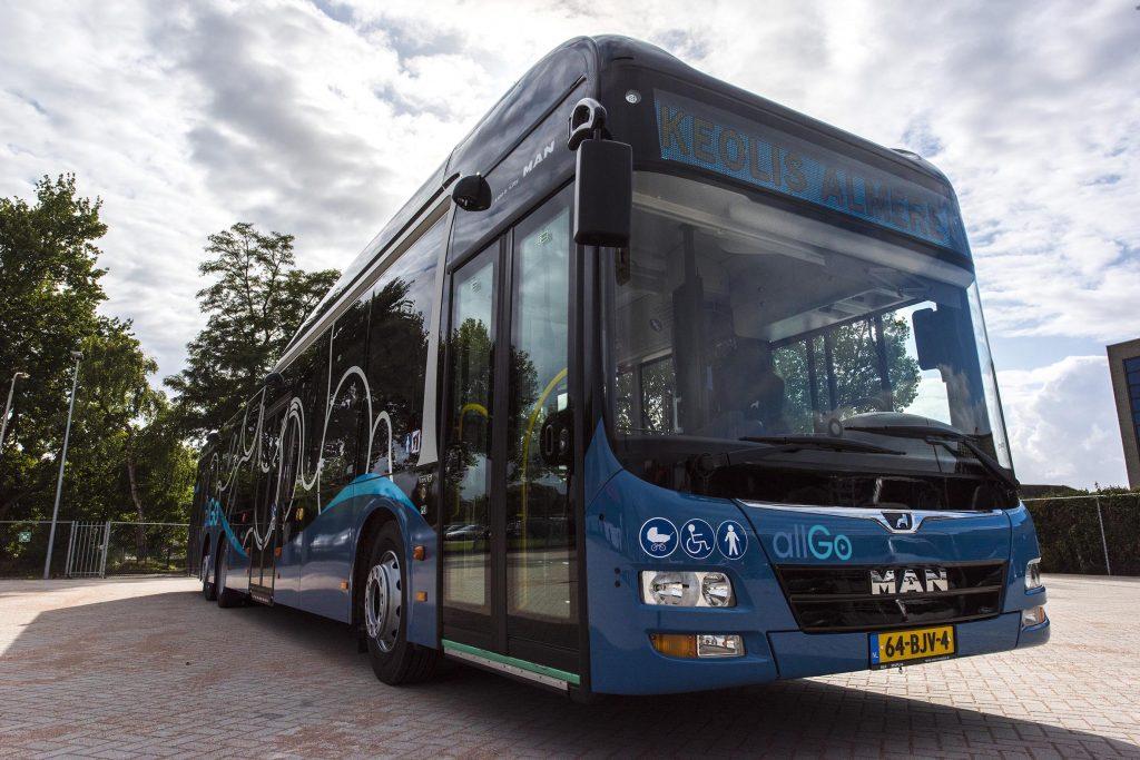 AllGo bus in Almere