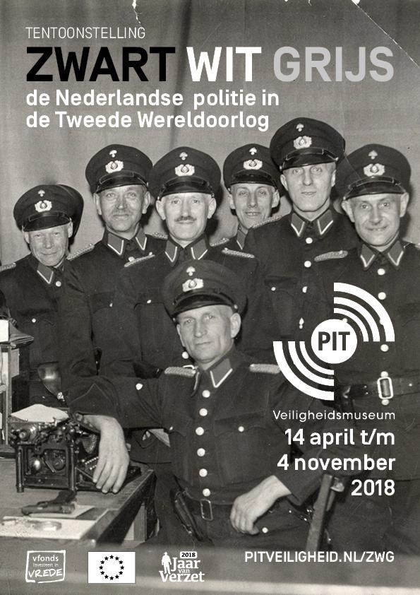 Poster 'Zwart Wit Grijs'