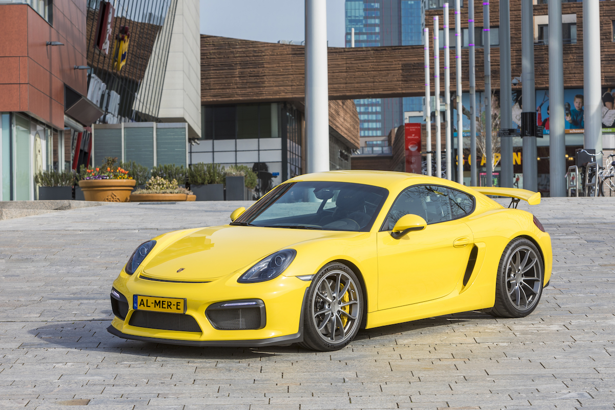 Porsche event in Stadscentrum Almere