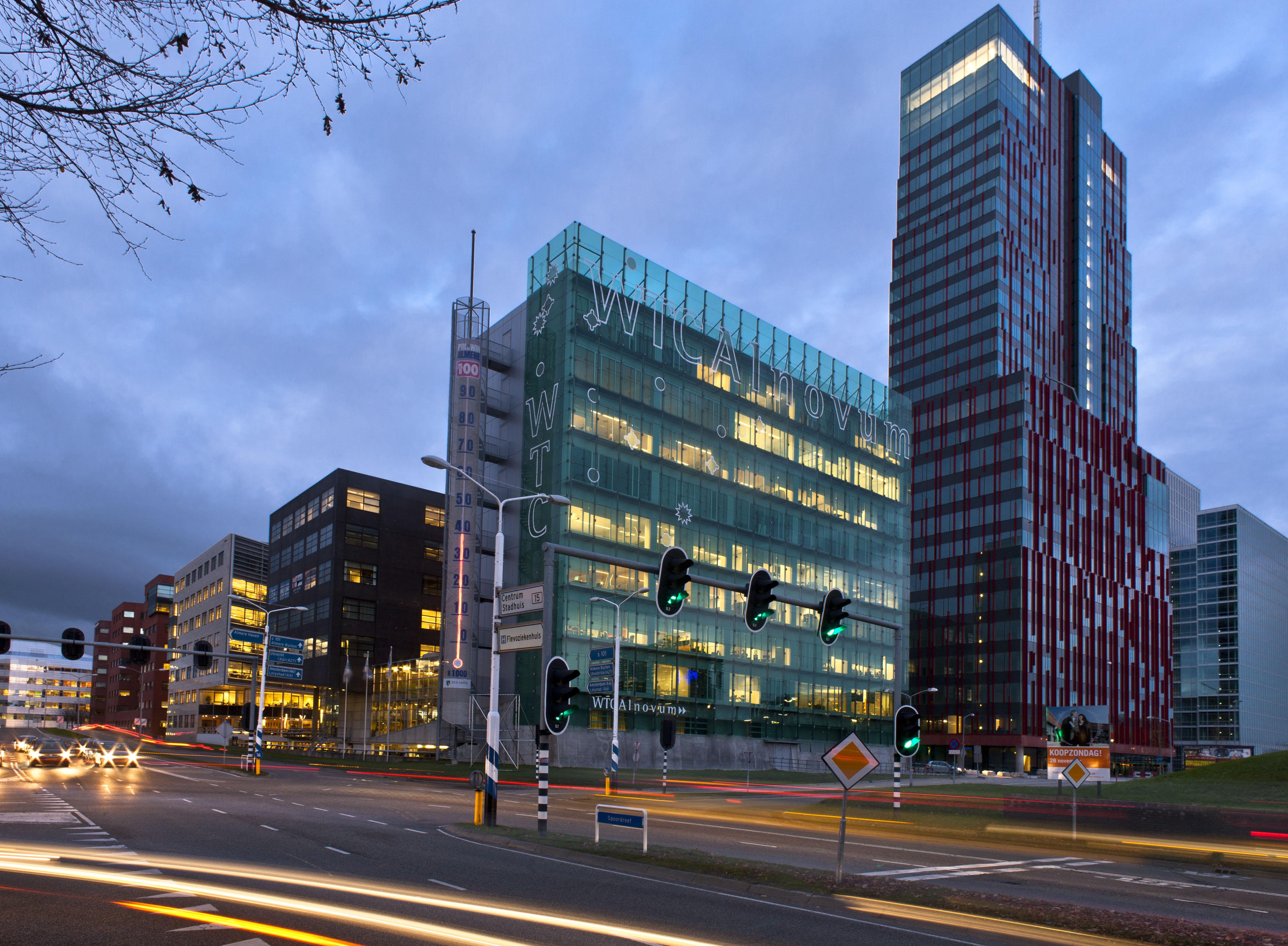 Zakencentrum in Almere