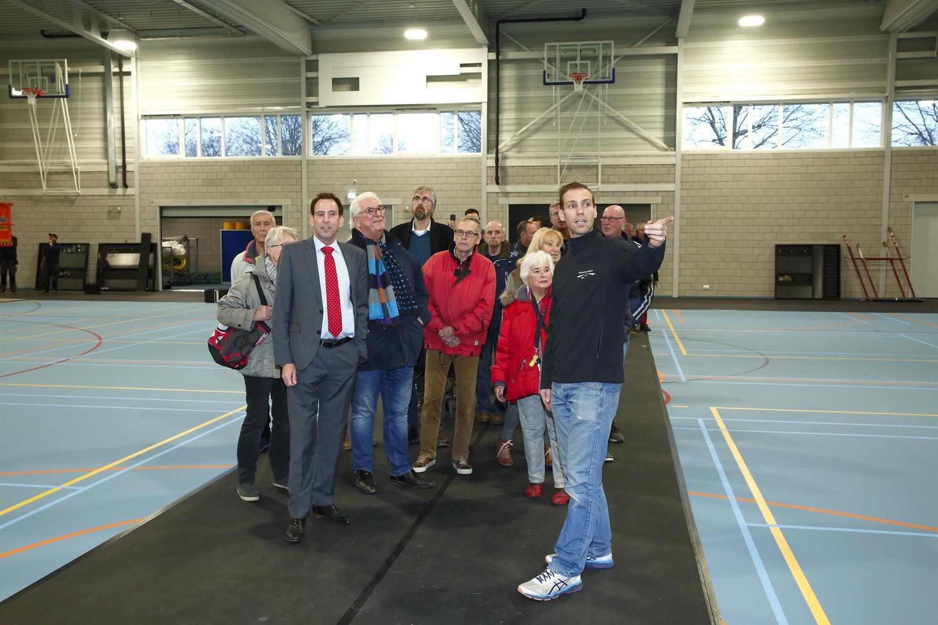 nieuwe sporthal almere haven Alexander Vof