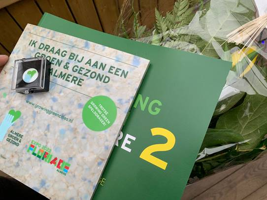 focus op vergroening in almere