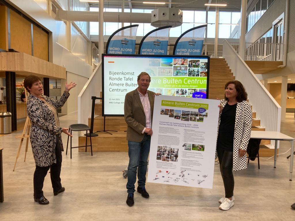 Ondertekening samenwerkingsconvenant Almere Buiten Centrum