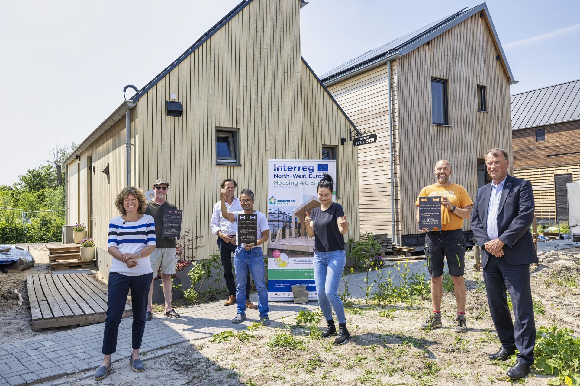 eerste wiki huis gebouwd