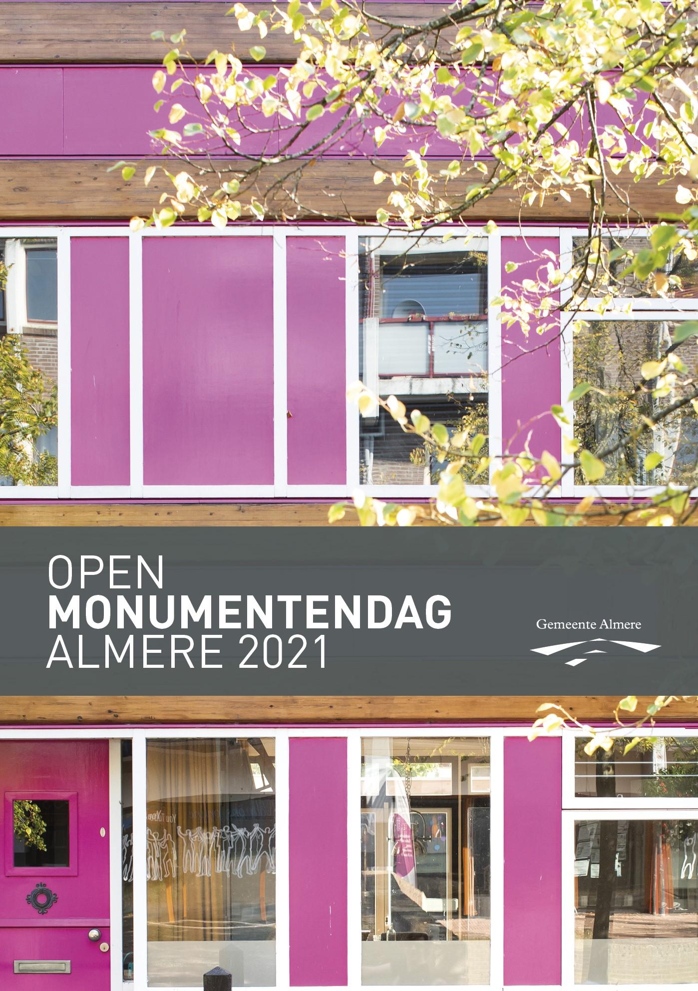 voorkantflyer Open Monumentendag 2021