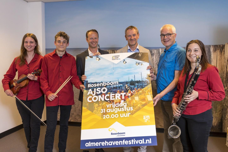 Roosenboom sponser AJSO concert tijdens Havenfestival