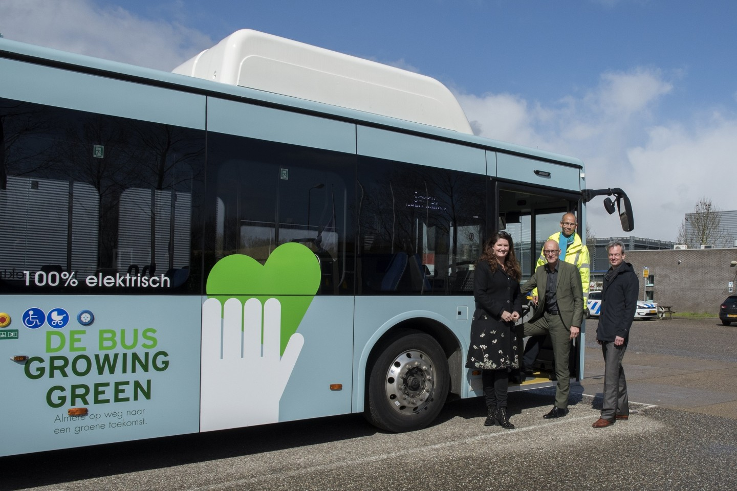 Foto Growing Green Cities Bus