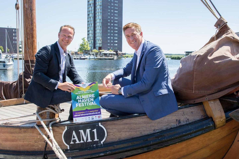 ACM2018_Ondertekening sponsoring Rabobank Almere Haven Festival2_Foto Roxanne Overdijk_rv met naamsvermelding