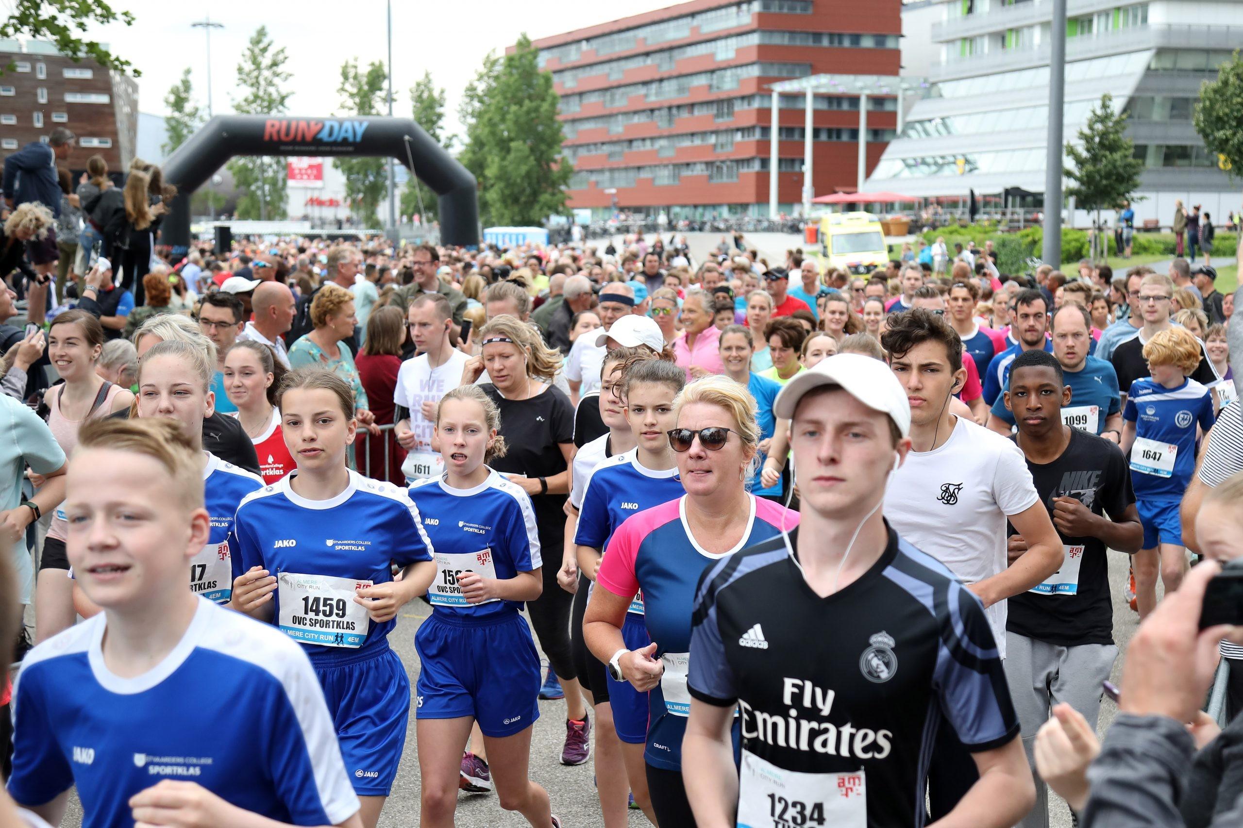 16-06-2019: ADW: City run Almere 2019